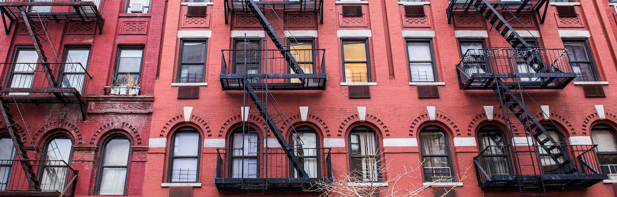 Classic 77th street walk-up building is a popular choice for WCM housing.